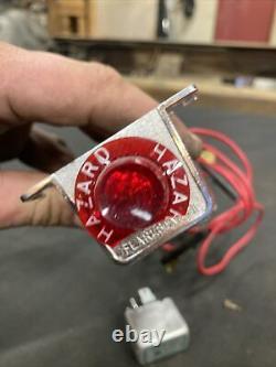 1930s 1940s 1950s 1960s Vintage Accessory Flarestat Hazard Light Switch 127