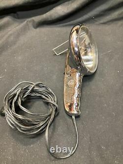 1930s 1940s 1950s GM HAND HELD SPOT LIGHT Chevrolet CHEVY BOMB ACCESSORY NICE