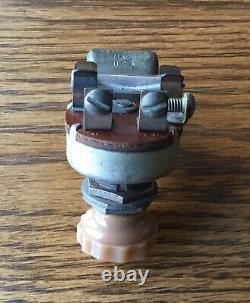 1930s 1940s ARK-LES FOG LITE SWITCH vtg Illuminated Accessory dash light knob