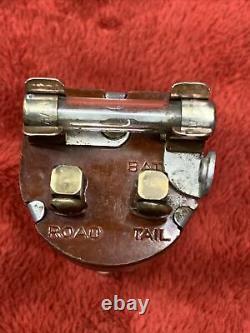 1930s 1940s Illuminated Ark-Les Accessory Under Dash Fog Lite Light Switch OG