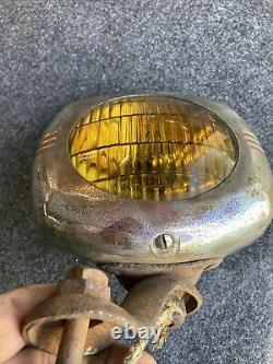 1930s 1940s Vintage Accessory Pioneer 145 fog light Chevy Ford Bomb OG GM 50s