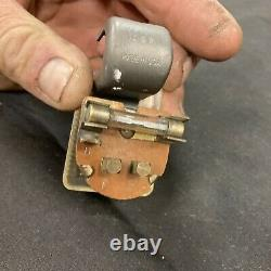 1930s 1940s Vintage Accessory Under Dash Fog Light Switch Chevy Ford Bomb OG