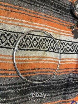 1941-1948 Chevrolet Banjo Accessory Steering Wheel Horn Ring 1946 1947 1948 OG