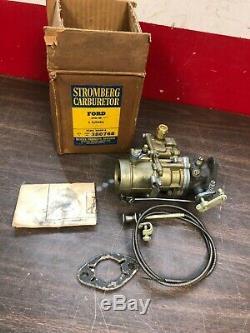1941-48 Ford Flathead 6 Cylinder Stromberg Bxov-2 1bbl Carburetor Nos 420