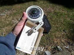1950s Antique Automobile Altimeter gauge nos Guide Vintage Chevy Ford Jalopy VW