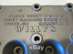 #2 Ford GPW Jeep CJ2A CJ3A M38 Willys MB L134 Motor Engine Cylinder Head
