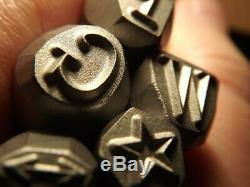 7 mm Stamp Punch set stamps Punch Ford-GPW-Jeep B