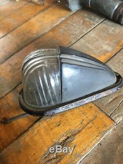 Antique 30s 40s50 Fender Light Harley Indian for Parts/Restoration OEM Vintage