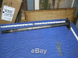 Early Ford GPW WWII Jeep Scalloped Axle Short Shaft F Marked 23 Rare scallop