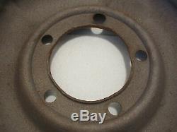 Ford GPW Jeep CJ2A CJ3A M38 Willys MB Combat Wheel Used Original Half