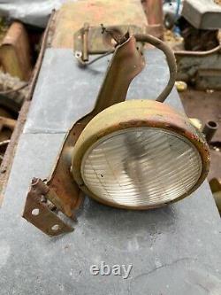Ford GPW Jeep WW2 Original Headlight Brackets and one original headlight