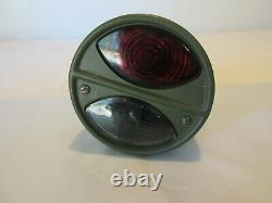 Ford GPW Jeep Willys MB Slat Grill Guide Blackout Tail Light 6 Volt