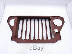 Front Grill Steel Jeep MB Ford Gpw 41-45
