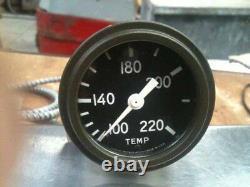 GPW GPA Ford Willys WWII Jeep temperature temp Gauge Stuart warner