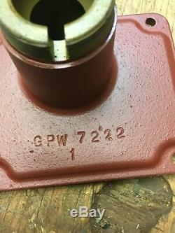 Jeep Ford GPW T-84 Transmission Top G-503 WWII