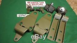 Jeep Ford GPW Top bow bracket kit GPW 42-45 military jeep Ford stamped G-503