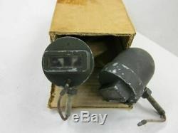 MB GPW Willys Ford WWII Jeep G503 Military Truck Grill Marker Lights NOS