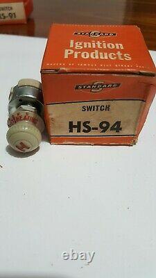 NOS 1930s 1940s 1950 Accessory Under Dash heater defrost Switch standard