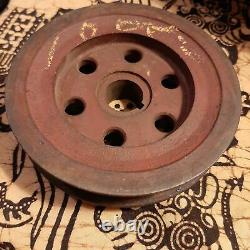 NOS Original WWII Willys MB Ford GPW Jeep Capstan Winch Crankshaft Pulley