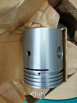 NOS Piston Set. 010 L134 With Gudgeon Pins Willys MB Jeep Ford GPW WW2