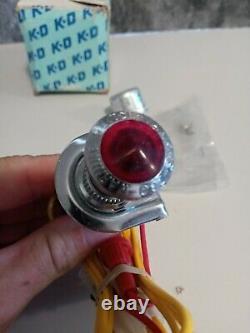 Nos Kd/ Yankee Hazard Warning Dash Light Accessory Switch Mopar Ford Chevy
