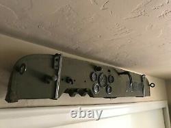 Orig Willys MB WW2 Army Slat Grill Jeep Dash Data Plates Speedometer Ford GPW