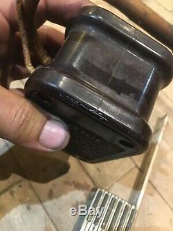 Original 1920s 30s AC spark plug Coil Tester Bake light Vintage Antique Auto