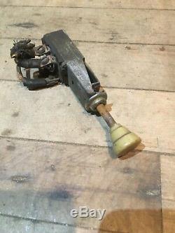 Original 1930's 40s Vintage Dash Mount Light Switch for Parts/Restoration OEM