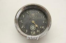 Original 1930's Supremo Car Truck Interior Dash Glove Box Clock Chevy Ford Mopar