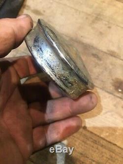 Original 40s50s60s Crusty Chrome Gas Cap Hot Rod Parts/Restoration OEM Vintage