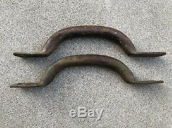 Original Paint Side Grab Lift Handles Ford GPW Willys WW2 Jeep