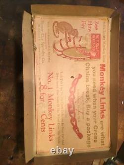 Original Teens 20-30s Monkey links store display tire chain antique OEM Vintage