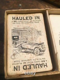 Original Teens 20-30s Touring car card game great graphics