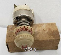 Original Vintage Heater Defroster Switch Illuminated NOS Part 40s50s60s
