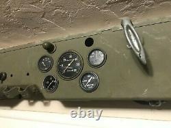 Original WW2 Slat Grill jeep Gauges Ford GPW Willys MB Army