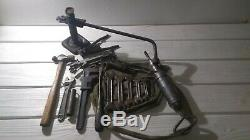Original WW2 Willys MB or Ford GPW JEEP JACK, Controlled Steel Wrenches Irwin
