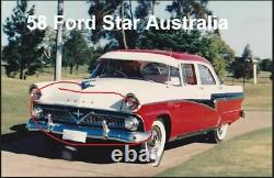 RAT ROD 1955 Ford Meteor Grille rare 1958 Ford customline star Australia model