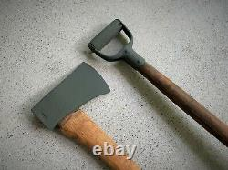 Us Army Military Vehicle Shovel & Ax / Axe Set Willys Jeep MB Ford Gpw M151