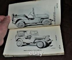 VTG 1944 1947 1948 Willys Overland Jeep MB Ford GPW Manual TM9-803