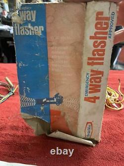 VTG 1950s 1960s NOS IN BOX YANKEE 760 12v Hazard 4 Way Flasher Emergency Switch