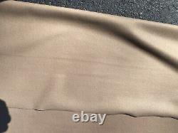 Vintage 1920s 1930s Cadillac Packard Buick Beige Mohair Interior Fabric Nice