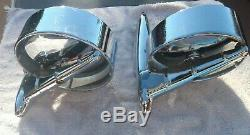 Vintage 1950's 1960's'unique Side Mirrors Ford fomoco chrysler mopar GM galaxie