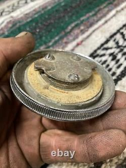 Vintage Accessory 1937-1952 Chevrolet Bomb Locking Gas Cap With Key 1941 1948 1949