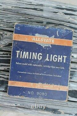 Vintage Engine tune Timing tester auto gm service street Ford Chevy Olds