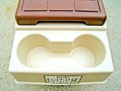 Vintage Igloo Little Kool Rest Car or Truck Console Cooler Accessory Cup Holders