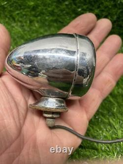 Vintage Pair Car Truck Motorcycle Back-Up Reverse / Brake Light glass Lens BB