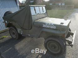 Vorführstück RAIN COVER Willys Jeep PERSENNING REGENVERDECK Ford GPW Hotchkiss