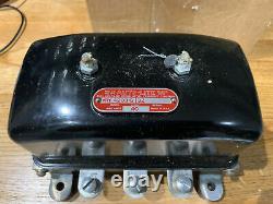 WW2 Autolite 6V Voltage Regulator, Willys MB, Ford GPW, Jeep, Dodge