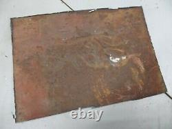WWII JEEP GPW FORD SCRIPT PATCH REPAIR PANEL early military section