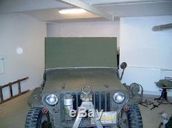 Willy's Jeep MB, Ford GPW, Standverdeck, Parkverdeck, Regenschutz
